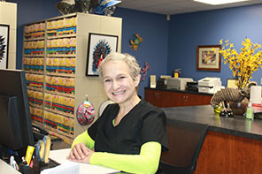 Kathy, Office Check-In, & Medical Records Specialist